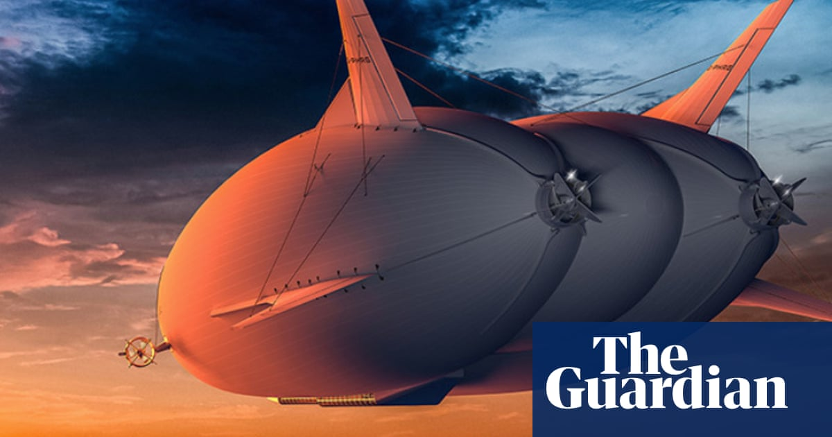 Airships for city hops could cut flying's CO2 emissions by 90%