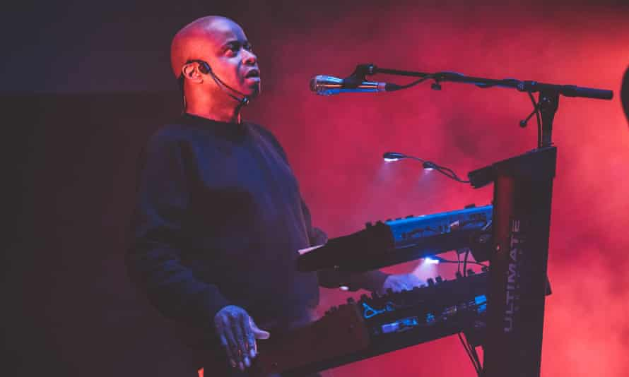More punk than funk … Juan Atkins leads Cybotron, at the Barbican, London.