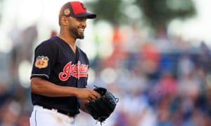 Danny Salazar is back in the mix for Cleveland.