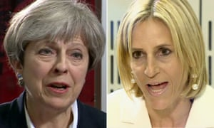 Theresa May Newsnight interview with Emily Maitlis on Newsnight