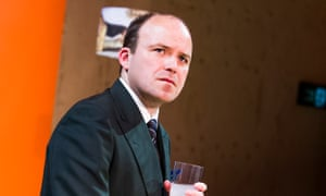 Rory Kinnear as Josef K in a stage adaptation of The Trial at the Young Vic theatre, London, 2015