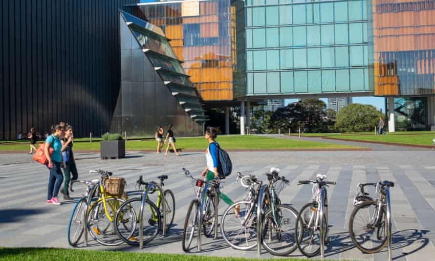 More than 700,000 international students were enrolled in Australian universities last year.