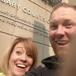 Shannon and Chris Neuman divorce selfie.
