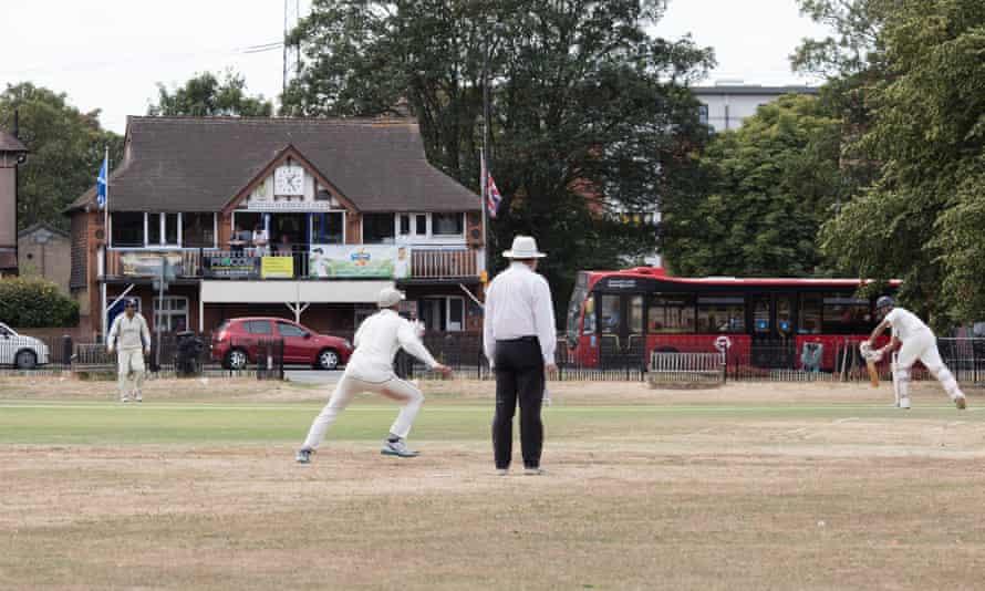 Mitcham cricket green and pavilion