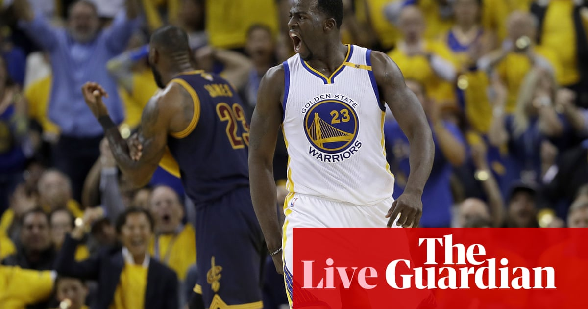 027950387eb NBA finals Game 1  Cleveland Cavaliers 91-113 Golden State Warriors – as it  happened