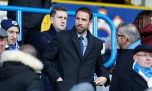 England manager Gareth Southgate was in attendance at the John Smith's Stadium.