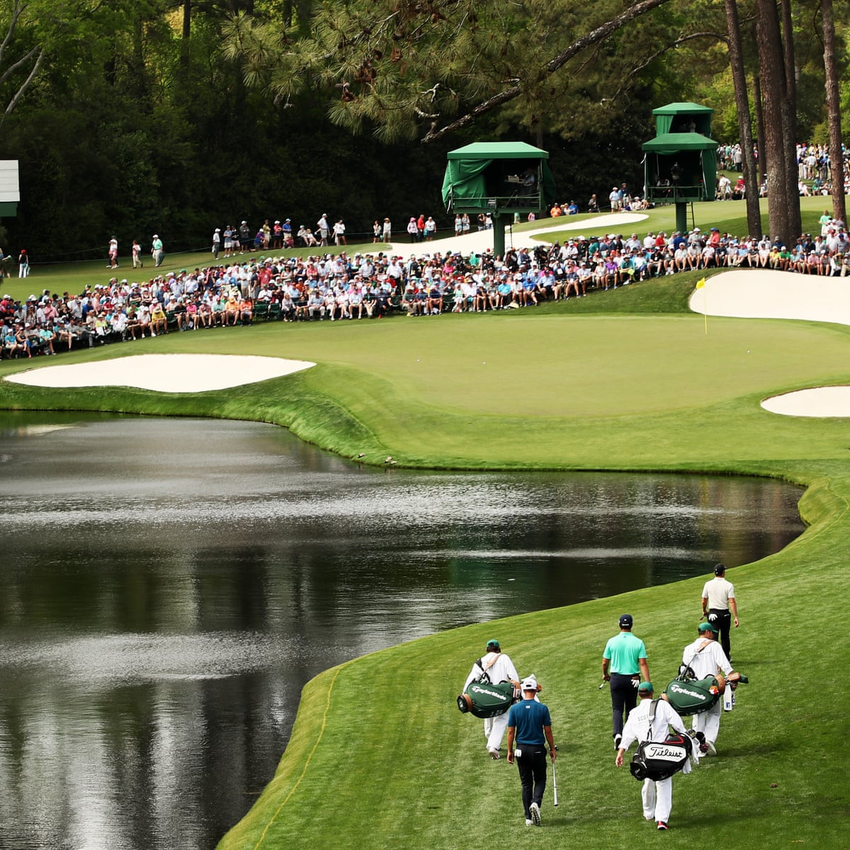 Autumn Masters In Augusta S Sights After Coronavirus Forces Postponement The Masters The Guardian