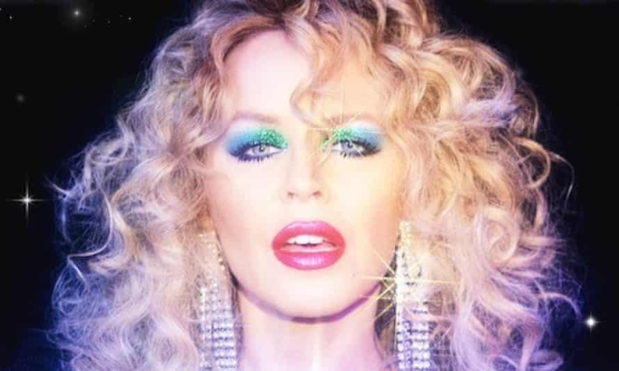 A detail from the cover of Disco by Kylie Minogue.