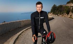 Nicolas Roche training in Monaco.