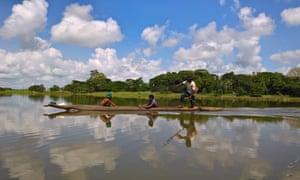 The Sepik river in Papua New Guinea