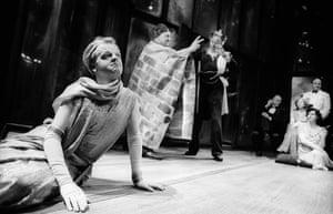 Toby Jones as Flute in A Midsummer Night's Dream