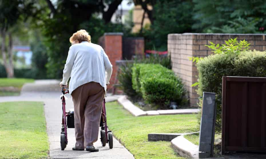 old woman sydney