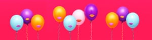 Balloons with lips