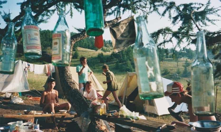 Camping at Lake Baikal, Siberia, 1993 © Bertien van Manen, Courtesy of the Artist and MACK