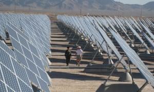 North America's largest solar farm
