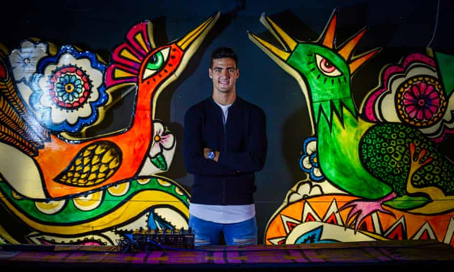 Mikel Merino often goes to the beaches close to his home. 'There's much more to do in Newcastle than in Dortmund,' he says.