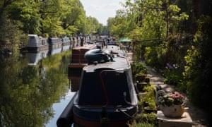 Regent's Canal in London.