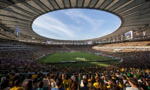 The Maracanã had a capacity of over 130,000 when Fluminense were relegated in 1997.