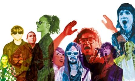 David Guetta, Ryan Adams, Rostam Batmanglij, Rihanna, Taylor Swift, Kevin Parker, Skrillex, Matty Healy, Carly Rae Jepson and Justin Bieber.