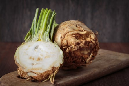 Celeriac – a root vegetable substitute perfect for soups and baking.