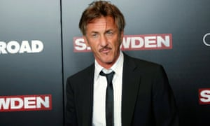 Sean Penn: no fan of Trump