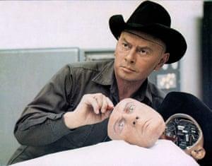 Yul Brynner in Westworld.