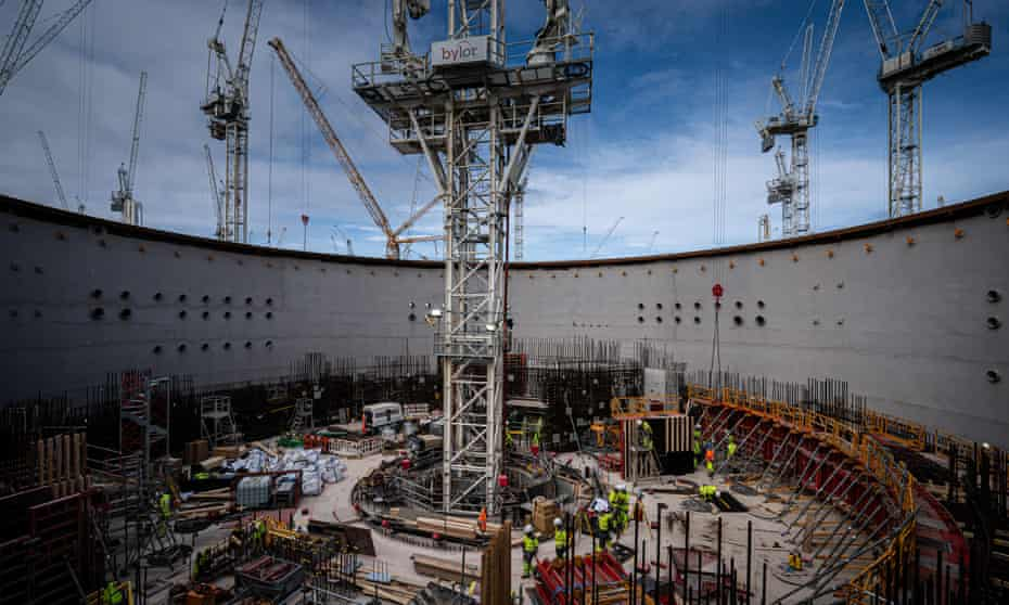 Britain's Hinkley Point C nuclear power station