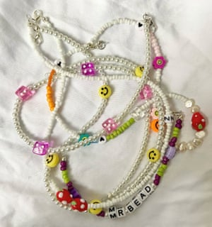 Pearls of wisdom Mr Bead founder Millie Moss donates 50% of profits from her cheerful emoji and pearl necklaces and mobile phone straps to The Silver Line - a free confidential telephone helpline offering information, friendship and advice to older people in the UK. From £12, @mr.bead_