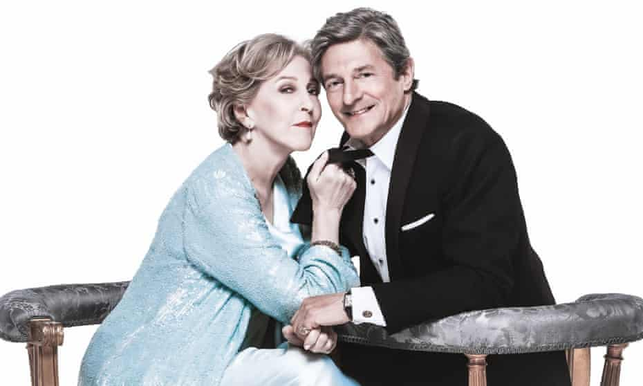 Patricia Hodge and Nigel Havers in Private Lives.