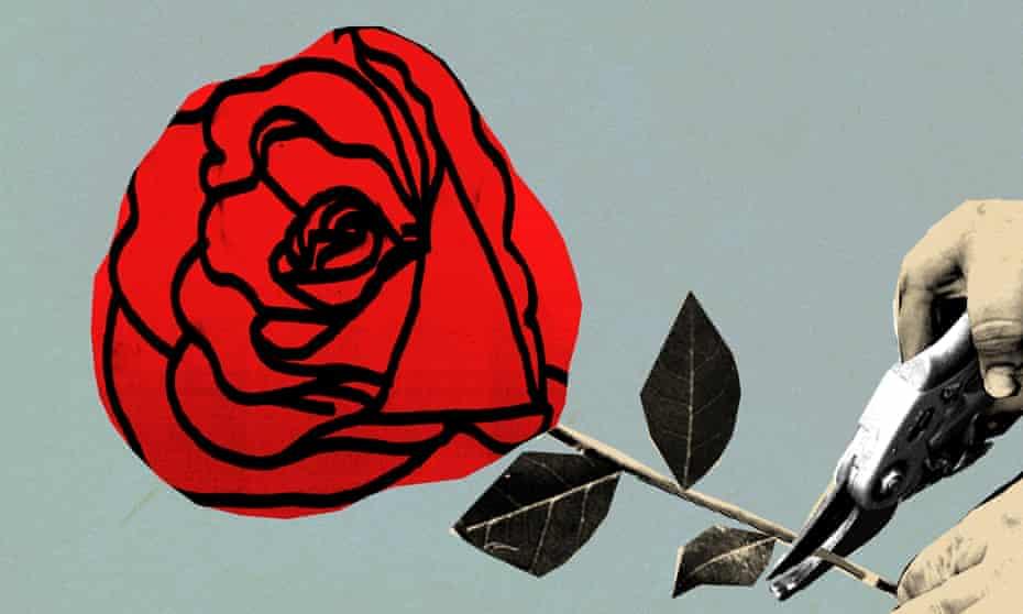 Ellie Foreman-Peck illustration for Labour death/John Harris