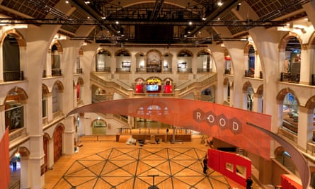 Main hall at the Tropenmuseum