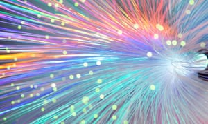 With fibre optics, speeds could reach 1 gigabit a second across much of Britain.