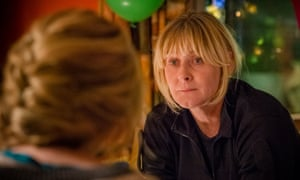 Sarah Lancashire as Sgt Catherine Cawood in the Sally Wainwright police drama Happy Valley.