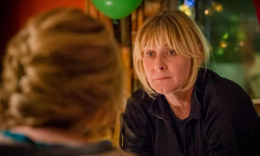 Sarah Lancashire in Sally Wainwright's police drama Happy Valley, set in west Yorkshire.