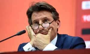 Dr Michael Ashenden said of Lord Coe: 'He was particularly vocal about my criticism of the IAAF and defended its anti-doping department while regarding Lamine Diack as his spiritual president.'