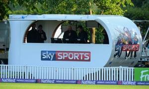 Sky cricket coverage
