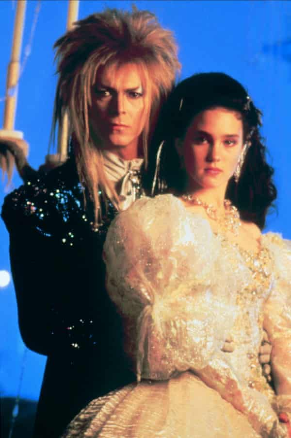 David Bowie: 'Fearless enough to play the loser' to Jennifer Connelly