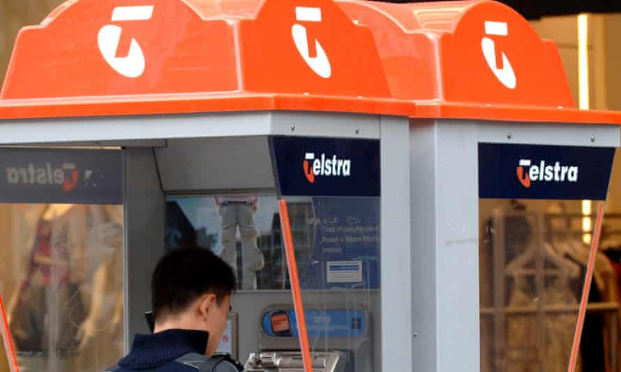Telstra pay phone