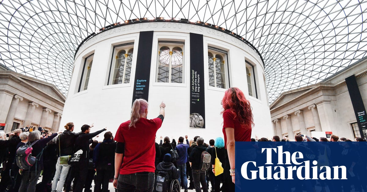 Campaigners protest against BP sponsorship of British Museum