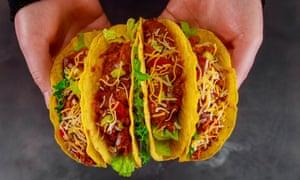 Vegan jackfruit tacos.