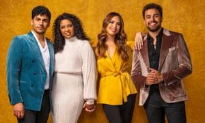 Four actors
