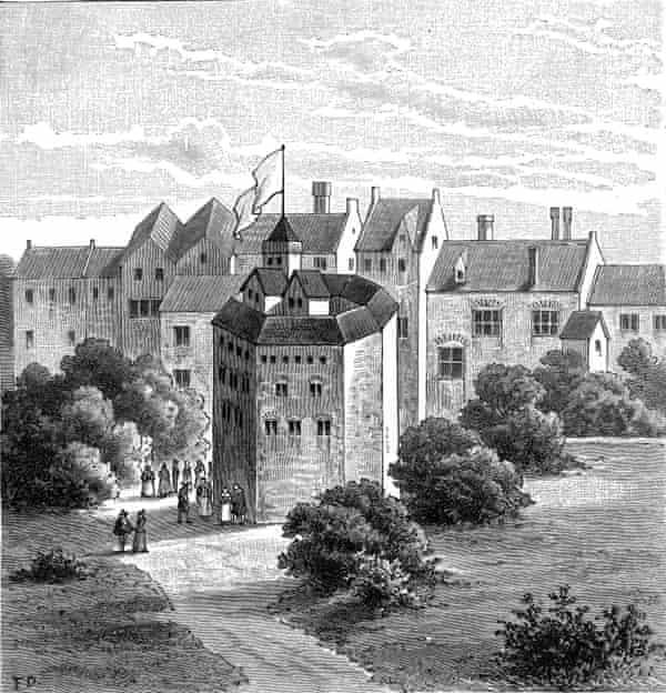 The Globe Theatre c1598.