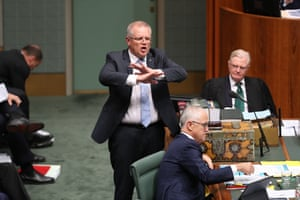 All that deal or no deal practice came in handyThe treasurer Scott Morrison during question time