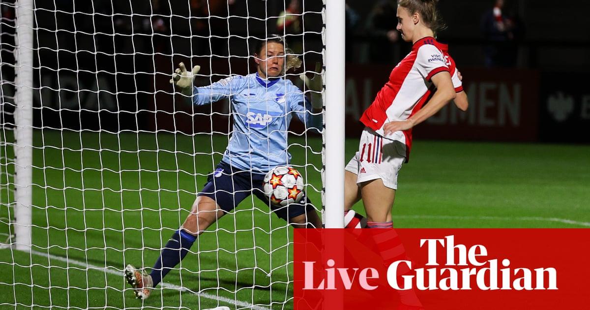 Arsenal 4-0 Hoffenheim: Women's Champions League – as it happened