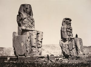 Statue of the Plain, Thebes, 1857