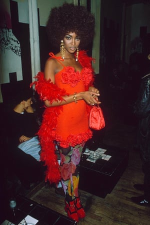Naomi Campbell at Limelight.