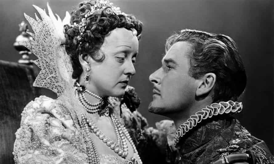With Errol Flynn in The Private Lives of Elizabeth and Essex