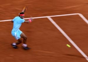 Rafael Nadal focuses on playing a comeback.