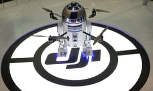 This StarWars R2D2 custom flying drone is a one-off but plenty of other drones will be given as gifts this Christmas.