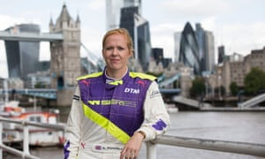 Alice Powell: 'My other half thinks we might not go racing this year at all ... in the back of my mind I think he could be right'.